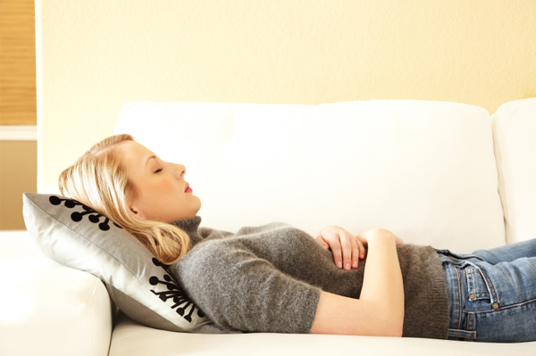 Stop feeling the discomfort of stomach pains