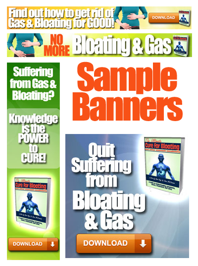 bloating affiliate program banners